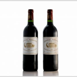 LOT 02 | 1996 Chateau Margaux 75cl – lot 2 bottles