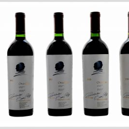 LOT 03 | Opus One 1991,1992,1993 &1994 – lot 5 bottles
