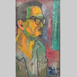 Lot 22 Bùi Xuân Phái (1920-1988) | Chân dung nghệ sĩ kịch Ngọc Đĩnh, Đoàn Kịch nói Hà Nội