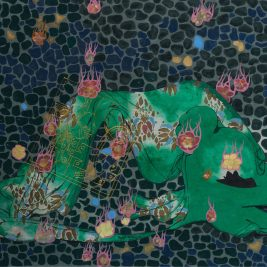 Lot 01 Nguyen The Hung (B.1981) |  Mưa hoa (Flowers showered)