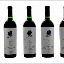 LOT 03   Opus One 1991,1992,1993 &1994 – lot 5 bottles