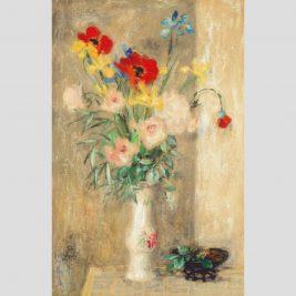Lot 24: Lê Phổ | Tĩnh vật hoa