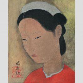 Lot 26: Vũ Cao Đàm (1908- 2000) | Chân dung thiếu nữ