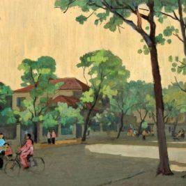 LE VAN XUONG (1917-1988) – Ham Long street, Ha Noi