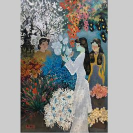 Lot 19 Đỗ Xuân Doãn (1937-2015) | Chợ hoa (Flower market)