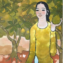 Lot 09 Nguyen Trung (B.1940) | Young Lady